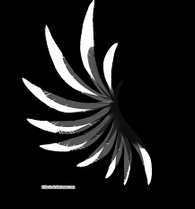 transparent black and white wing by k1ku stock on deviantart