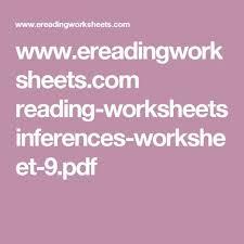 all worksheets inferences worksheets pdf free printable