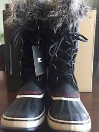 s sorel winter boots size 9 nwb s sorel for j crew joan of arctic winter boots black
