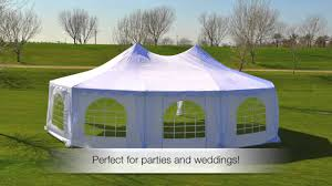 Party Canopies For Rent by Take 1 Event Rentals White Decagonal 29x21 Wedding Party Tent