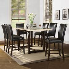ideas charming counter height dining room sets bar height kitchen