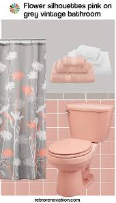 Ideas To Remodel A Bathroom Colors 25 Best Pink Bathroom Vintage Ideas On Pinterest Baby Pink