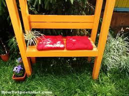 How To Build A Garden Bench Double Chair Bench Plans Howtospecialist How To Build Step By