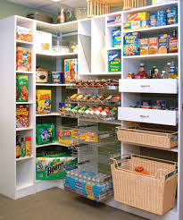 special pantry shelving with white painted hardwood pantry