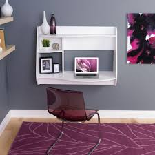 Floating Wall Desk Prepac Kurv White Desk With Shelves Wehw 0901 1 The Home Depot