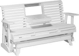 Luxcraft Fine Outdoor Furniture by Luxcraft 5 U0027 Plain Glider Amish Yard