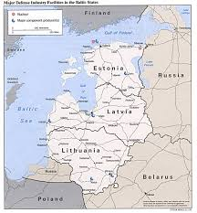 Balkan States Map by Major Defense Industries In Baltic States Map Sweden U2022 Mappery