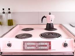pink kitchens ideas square white beauty stainless steel island
