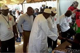 fermeture des bureaux de vote gambie législatives fermeture des bureaux de vote place au