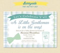 gentleman baby shower southern gentleman baby shower invitation baby boy country