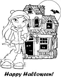 bratz coloring pages