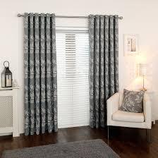 Eyelet Curtains Fable Grey Eyelet Curtains
