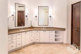 Trim For Bathroom Mirror by Bathroom Mirror U0026 Cabinet Porter Barn Wood