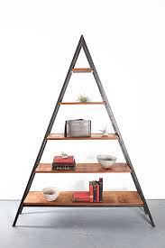 custom reclaimed wood triangle shelf vancouver bc studio 126