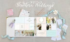 scrapbook for wedding becky higgins introducing the southern weddings edition