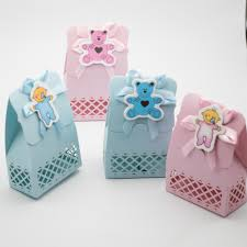 online shop 12 x baby shower favours candy box christening gift