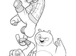 kung fu panda 123 animation movies u2013 printable coloring pages