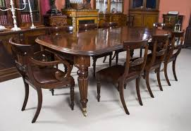 Natural Wood Dining Room Table by Mahogany Dining Room Set 1940 Awesome Carving Natural Varnished