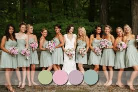bridesmaid dress colors top 6 most flattering bridesmaid dress colors in fall 2014 2015