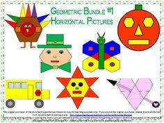 2d shapes geometry attribute activity activities