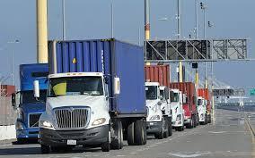 luxury semi trucks tesla u0027s semi already making waves at la long beach port complex