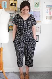 jumpsuit stitching pattern jumpsuit what katie sews