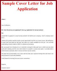 luxury employment application cover letter sample 22 for your best