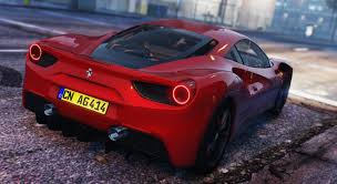 ferrari 488 gtb ferrari 488 gtb add on replace hq gta5 mods com