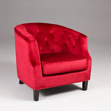 red accent chair zolt us