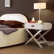 X Base Side Table Bedroom Side Tables Diy Hanging Bedside Table 8 Charming Bedside