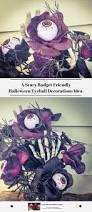 scary budget friendly halloween eyeball decorations idea