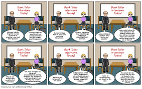 why should we hire you essay sample doc638479 wells fargo teller position wells fargo bank na wells job interview comic strip storyboard by arielhatley wells fargo teller positions
