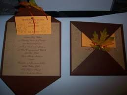 fall themed wedding invitations marialonghi com