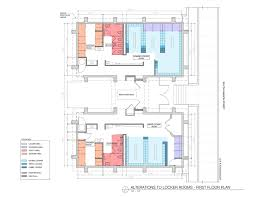 shower room layout plans for locker room renovation