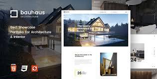 Interior Themes by Bauhaus Architecture U0026 Interior Drupal 8 Theme By Symphonythemes