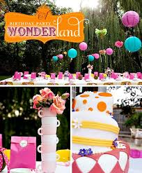 Alice In Wonderland Theme Party Decorations Alice In Wonderland