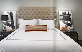 beige upholstered headboard photos popsugar home
