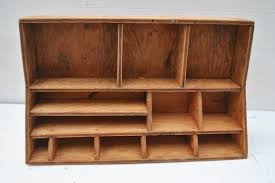 Wood Desk Accessories And Organizers I Love Vintage Wooden Anything This Is So Cute Vintage Wood