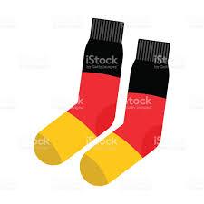 German Flag Emoji Patriot Socken Deutschland Bekleidung Accessoires Deutschen Flagge
