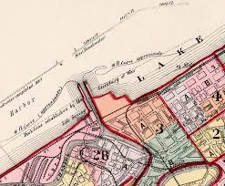 map of cleveland map of cleveland 1892 maps and vintage prints