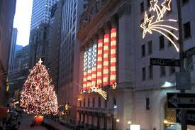 nyc financial district nyse christmas lights the new u2026 flickr