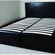 gas lift beds single tigerbeds 3ft black single storage ottoman