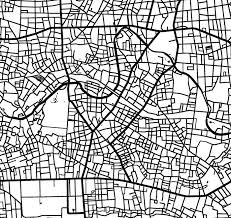 city map map prints wall maps and map decor from modern map