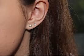 second ear piercing earrings yours fashion second ear piercings