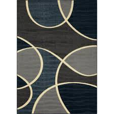Teal And Gray Area Rug by Geo Waves Gray Area Rug Maples Rugs