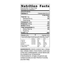 Nutrition Facts For Cottage Cheese by Low Fat Cottage Cheese Nutrition Zoodo Tech