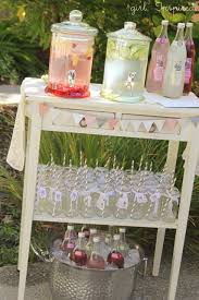 Drinks For Baby Shower - drink station ideas