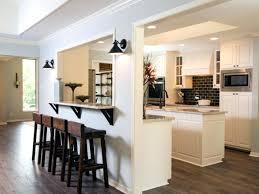 cuisine ouverte avec bar cuisine avec bar pour manger cuisine avec ilot central pour manger
