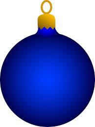 blue tree ornament free clip clip library