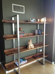 42 Wide Bookcase Stainless Steel Bookcase Bobsrugby Com